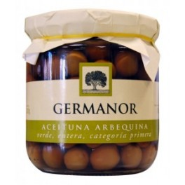 Aceitunas germanor arbequina 215 gr.