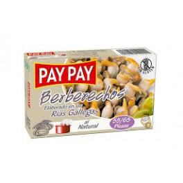 Berberechos Pay Pay Ria Gallega 55