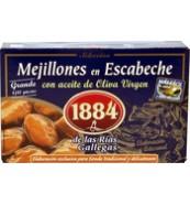 Musclos Escabetx Oli Verge Extra 1884