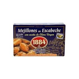 Mejillones Escabeche Aceite Virgen Extra 1884