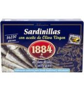 Sardinillas 16/20 en aceite virgen extra 1884