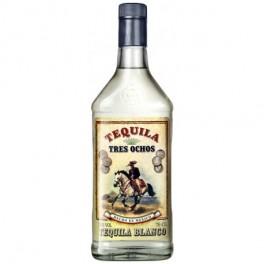Tequila Tres Ochos Blanco 70 cl