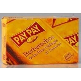 Berberechos Rias Gallegas Pay Pay 25/35 Serie Oro