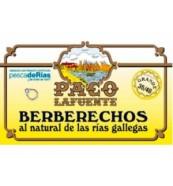 Berberechos Paco Lafuente de las Rias Gallegas 35/45