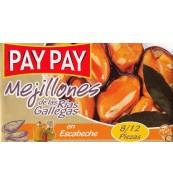 Mejillones en Escabeche PAY PAY 8/12