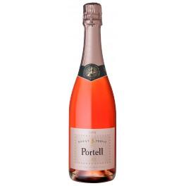 Cava Portell Brut Rose - Sparkling Wine (Spain)