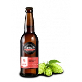 Piris Red Ipa Beer 33 cl.