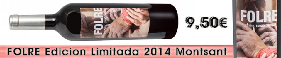 Folre Edicion Limitada 2013 Montsant - descorchalo.com tienda online dedicada a la venta de vinos, cavas, champagne, ginebras, tonicas premium, destilados, vinoterapia, aceites gourmet , cervezas de importacion