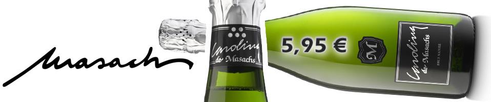 Carolina de Masachs Brut Nature - descorchalo.com tienda online dedicada a la venta de vinos, cavas, champagne, ginebras, tonicas premium, destilados, vinoterapia, aceites gourmet , cervezas de importacion
